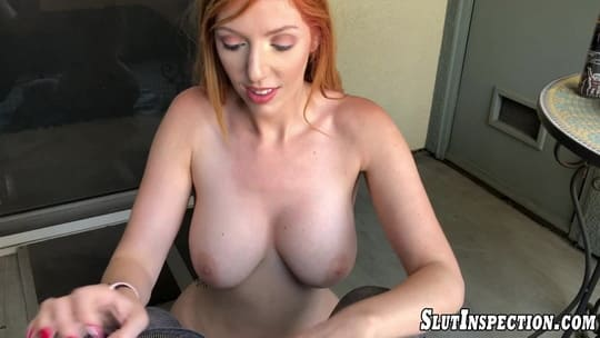 Big Tit Redhead Roommate Lauren Phillips is in Need of a good Dicking